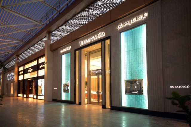 TIFFANY & CO.  Boulevard Mall, Jeddah (KSA)